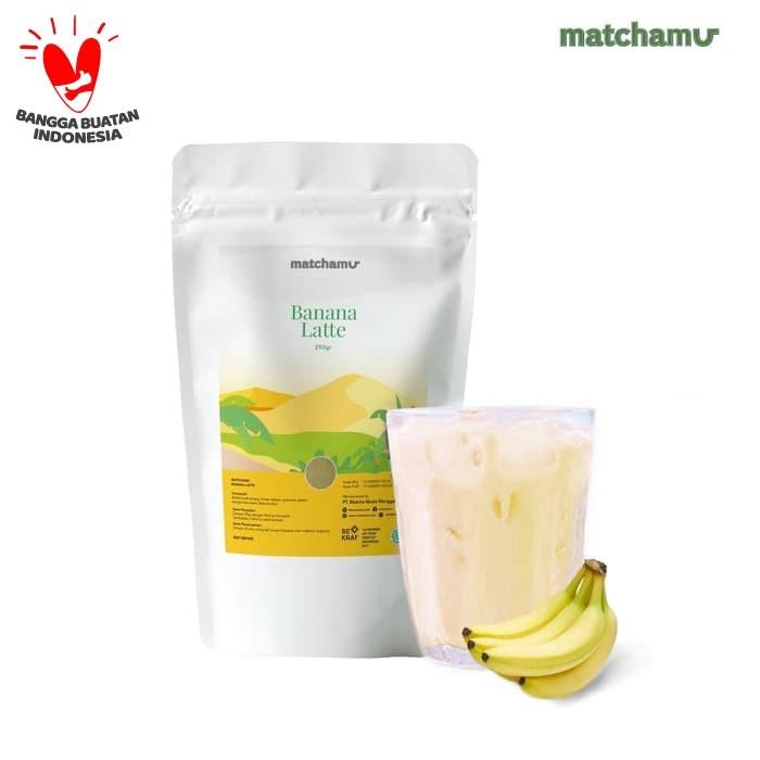 Foto Produk Banana Latte 250gr dari matchamu