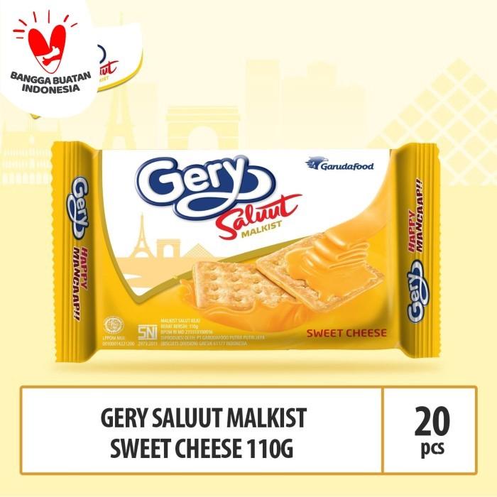 Foto Produk Gery Saluut Malkist Sweet Cheese -110g - (Beli 10 Gratis 10) dari GarudaFood