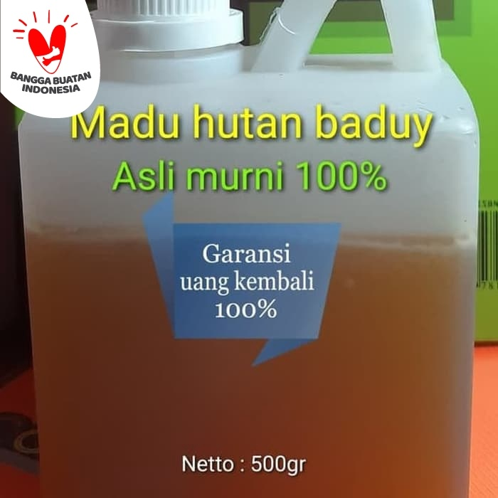 Foto Produk Madu Hutan Baduy 100 Asli dan Murni (Manis madu) dari Madu Odeng Baduy Murni