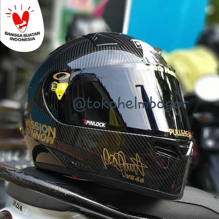 Foto Produk RSV FFzero Carbon visor smoke dan spoiler GPR 2.0 v4 dari TOKO HELM BOGOR