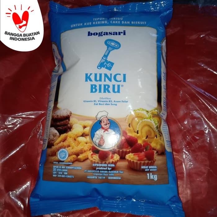 Foto Produk Kunci biru tepung protein rendah 1kg dari thaliasupplier