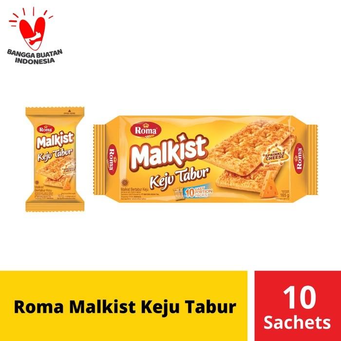 Foto Produk Roma Malkist Keju Tabur 10 Sachets @16,5 Gr dari Mayora Official Store