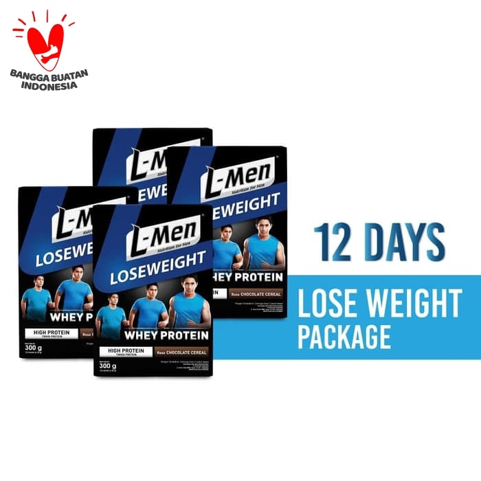 Promo 12 Days Lose Weight Package L Men Lose Weight Chocolate Cereal 300gr Jakarta Timur Nutrimart Tokopedia