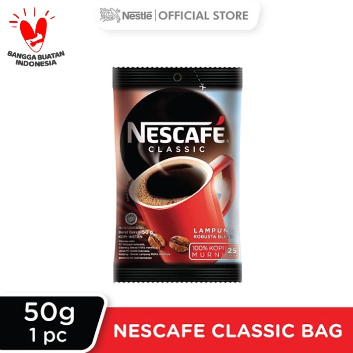 Foto Produk NESCAFÉ CLASSIC Bag 50g dari Nestle Indonesia