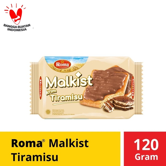 Foto Produk Roma Malkist Krim Tiramisu 120 Gram dari Mayora Official Store