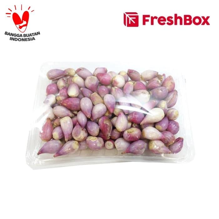 Foto Produk Freshbox Bawang Merah Kupas 500gr dari FreshBox