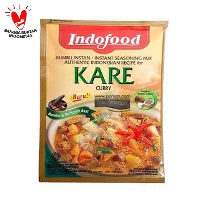 Foto Produk PRAKTIS & MUDAH Masak KARE!!! Bumbu Masak Instant dari Indofood dari 3F Retail