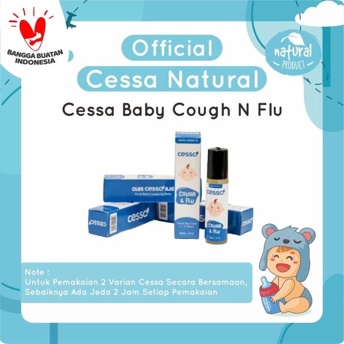 Foto Produk Cessa Cough n Flu - Essential Oil Pereda Batuk & Pilek Bayi / Anak dari Cessa Natural