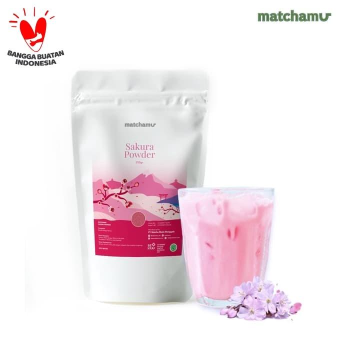 Foto Produk Pure Sakura Powder 100gr dari matchamu