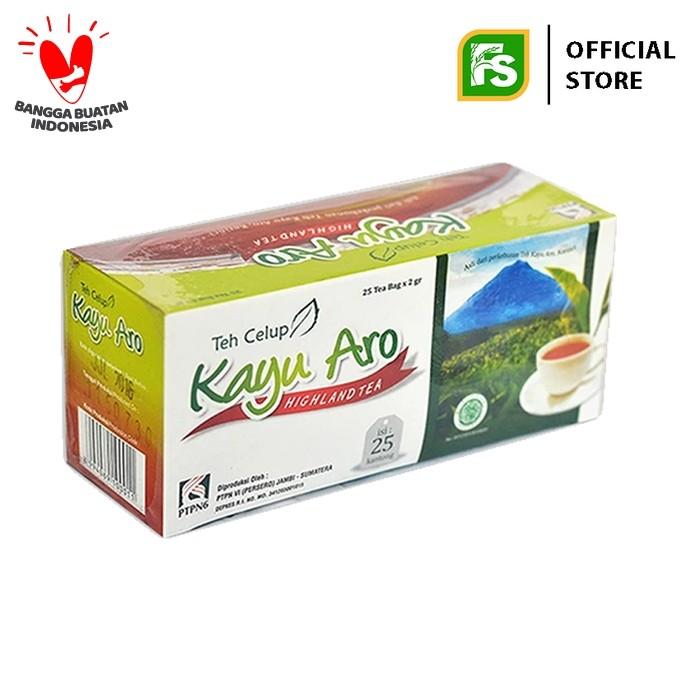 Foto Produk KAYU ARO BLACK TEA CELUP 25'S @2 gr dari Food Station