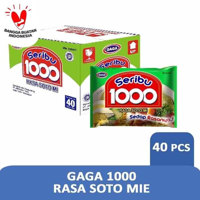 Foto Produk GAGA 1000 Rasa Soto Mi (1 dus = 40 pcs) dari Gaga Official Store