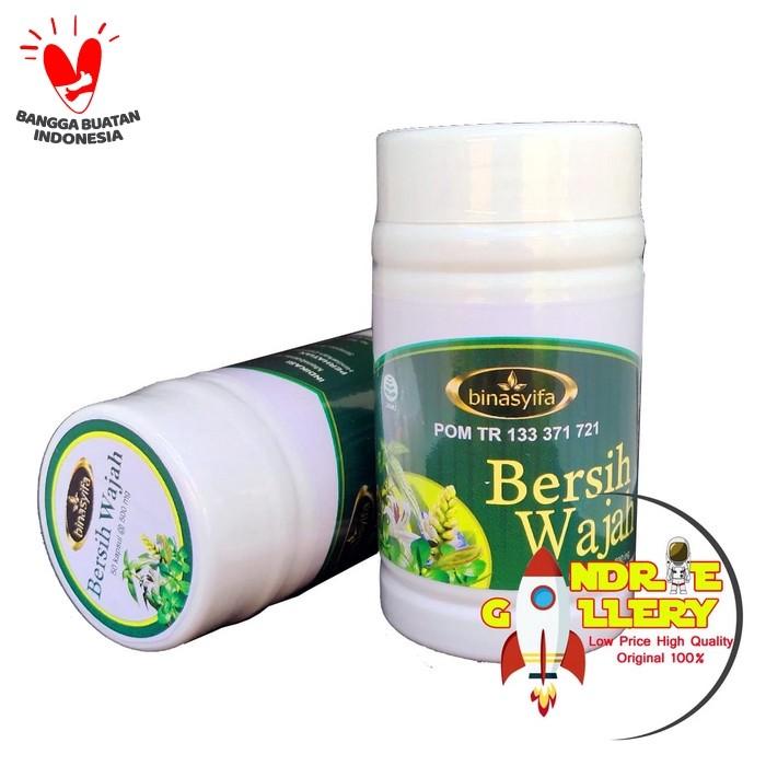 Jual Kapsul Bersih Wajah Herbal Binasyifa Obat Alergi ...