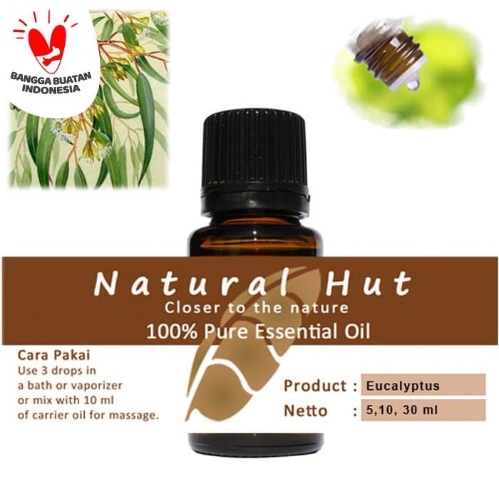 Foto Produk 100% PURE ESSENTIAL OIL (EUCALYPTUS) - 10ml dari Natural Hut