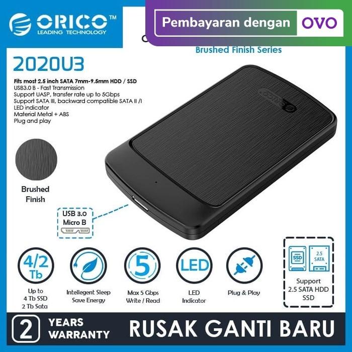 Foto Produk ORICO HDD SSD Enclosure 2.5 Inch USB 3.0 - 2020U3 dari ORICO INDONESIA