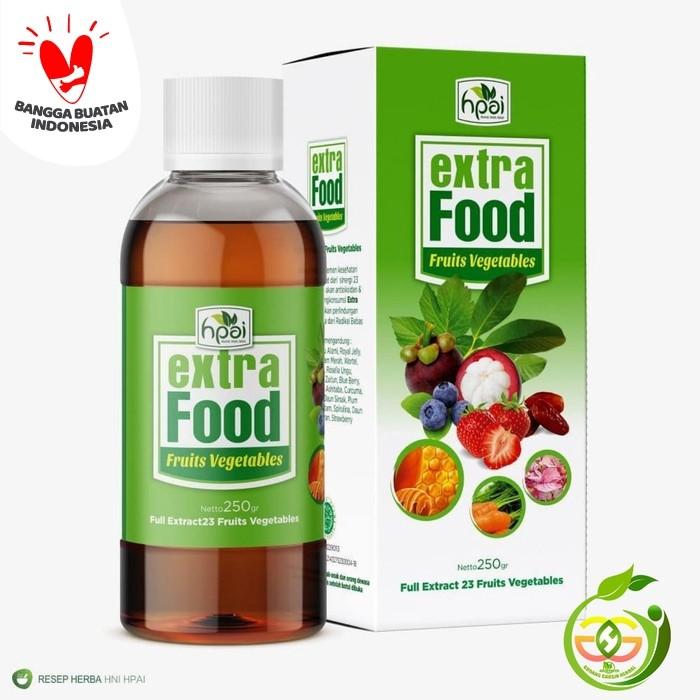 Foto Produk extrafood fruits vegetables, extra food HPAI dari Gudang Grosir Herbal