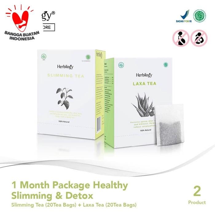 Foto Produk Paket Herbilogy Slimming Detox dari Herbilogy