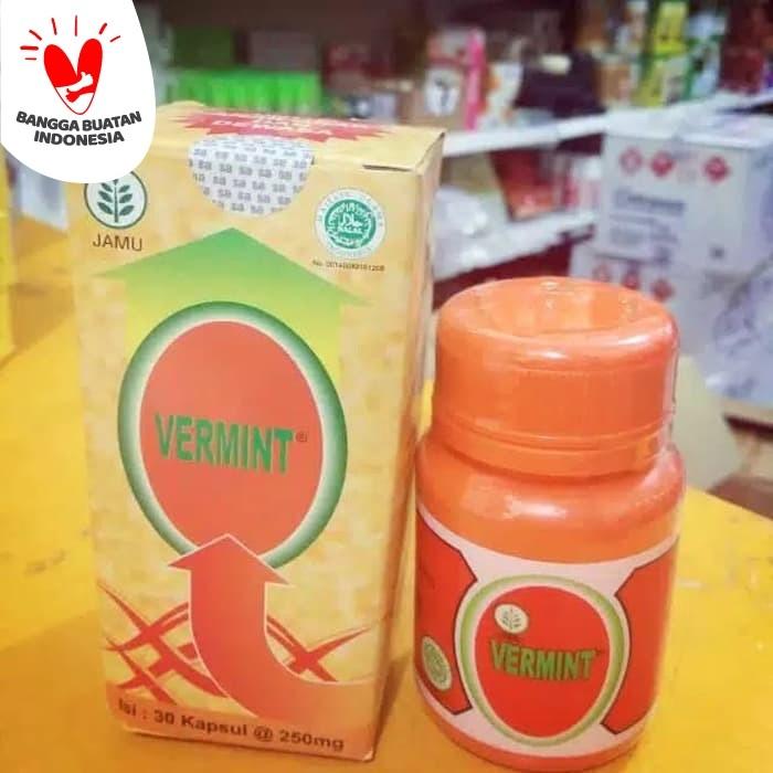 Foto Produk Vermint isi 30 kapsul - Kapsul ekstrak cacing - Obat Typus dan Demam dari Lapak Barokah