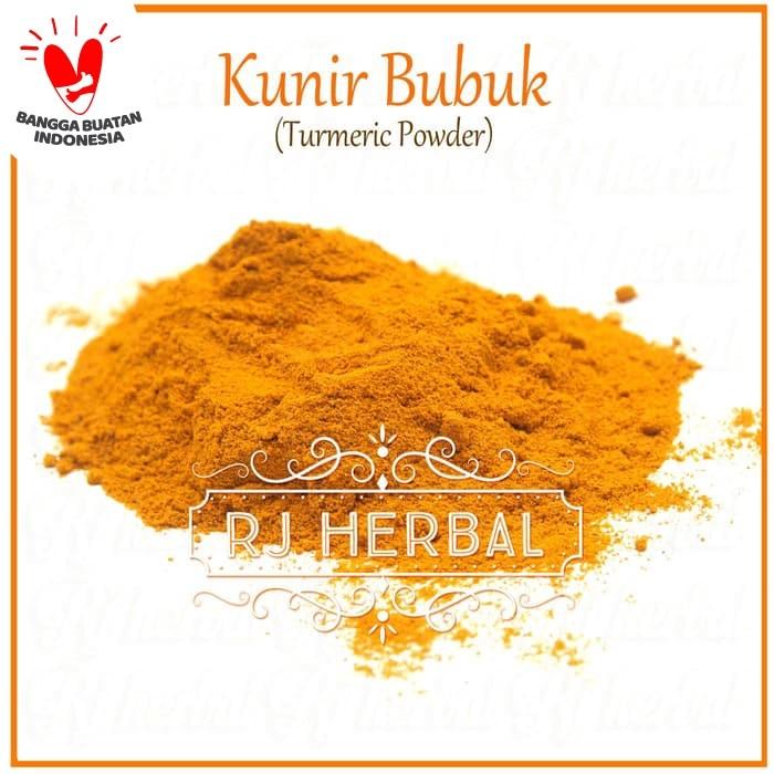 Foto Produk 1Kg Kunyit / Kunir Bubuk / Turmeric Powder Murni dari RJ Herbal