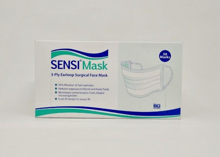 Foto Produk SENSI SURGICAL MASKER FACE MASK 3 PLY EARLOOP DEBU dari Gudang Sehat Store