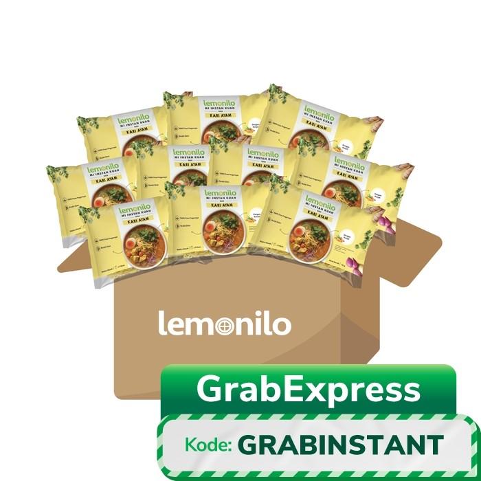 Foto Produk Paket Lemonilo Mi Instan Kuah Rasa Kari Ayam Isi 10 Pcs dari Lemonilo