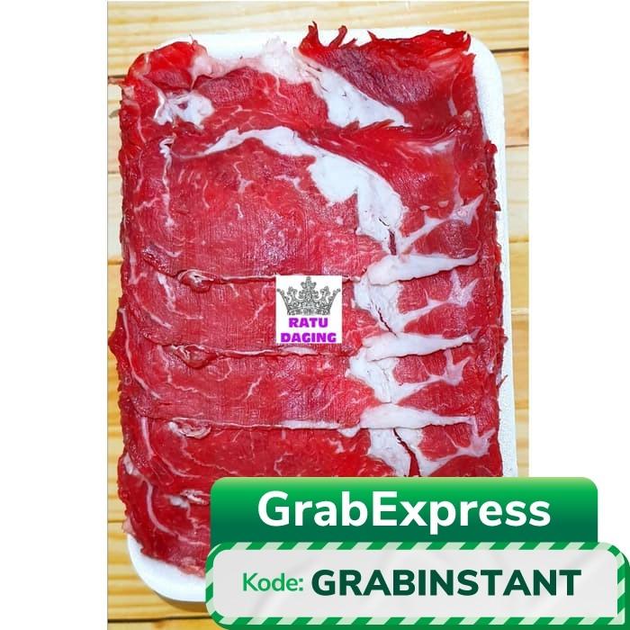 Foto Produk DAGING SAPI AUSTRALIA SLICE TIPIS / SUKIYAKI / TERIYAKI - 1 Pack @1kg dari Ratu Daging