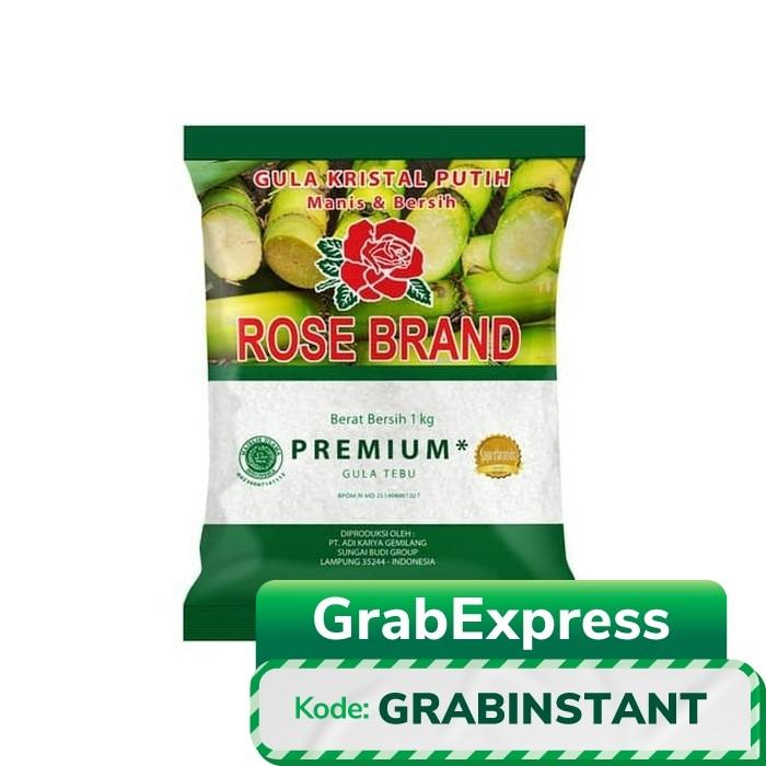 Foto Produk Rose Brand Gula Pasir Putih Premium [1Kg] dari Rezeki Fresh Market