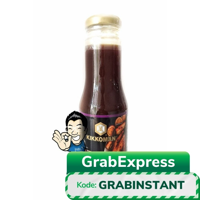 Foto Produk Kikkoman Garlic Teryaki Sauce- Saus Teriyaki Bawang HALAL 300g dari IndoFresco