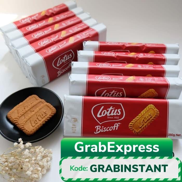 Foto Produk Biscuit Lotus Biscoff 250 gr - Biskuit Lotus - Caramel Cookie dari HABICUP