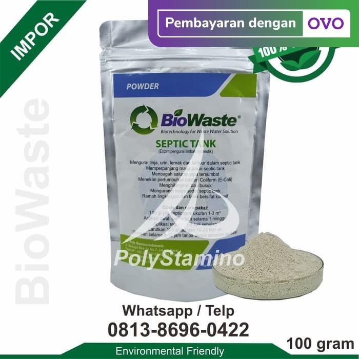 Foto Produk Bakteri Pengurai Limbah BioWaste Septic Tank 100 gram dari BioWaste
