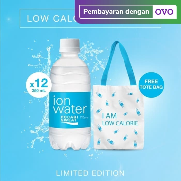 Foto Produk ION Water Low Calorie Package - FREE Tote Bag dari Toko Otsuka