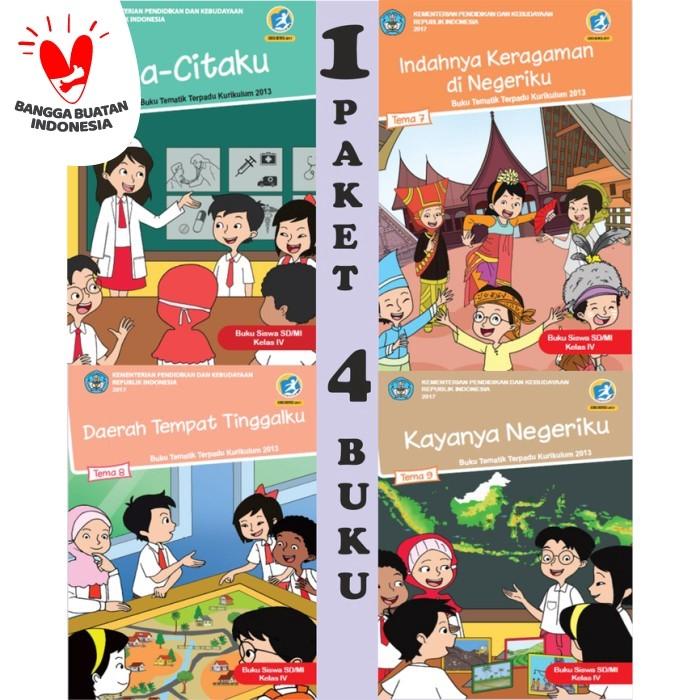 Foto Produk Buku Paket Tematik Kelas 4 Semester 2 SD (Tema 6-9) dari sbybooksonline