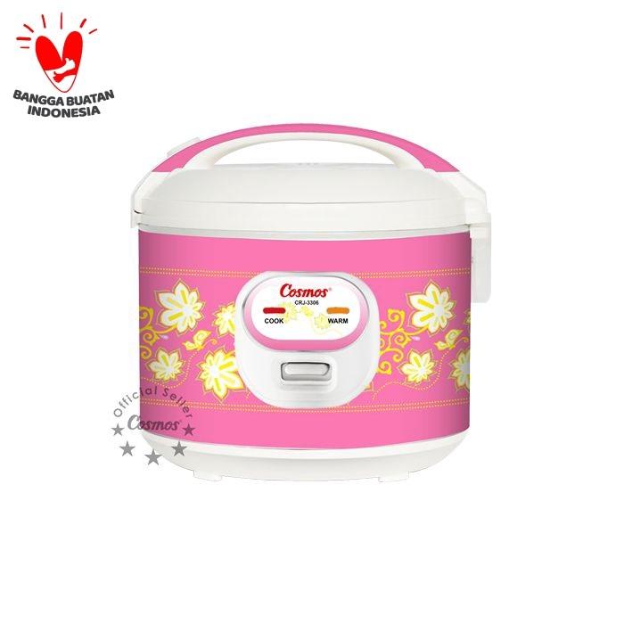 Foto Produk COSMOS Rice Cooker 1.8 Liter CRJ3306 - Pink dari UTAMA_ELECTRONIC