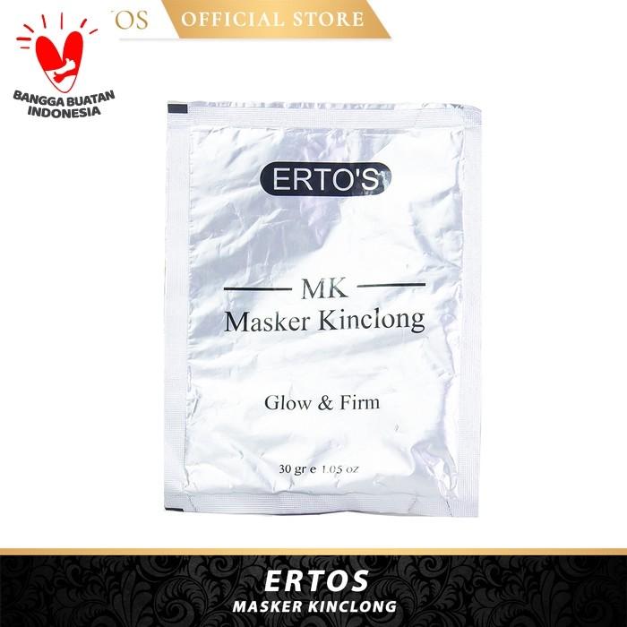 Foto Produk Ertos Masker Kinclong Glow & Firm 30gr dari Dunia-Kosmetik