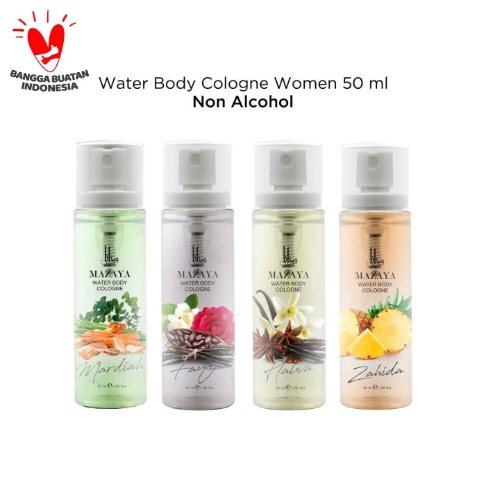 Foto Produk Mazaya Water Body Cologne 50ml - Calia dari Mazaya Cosmetics