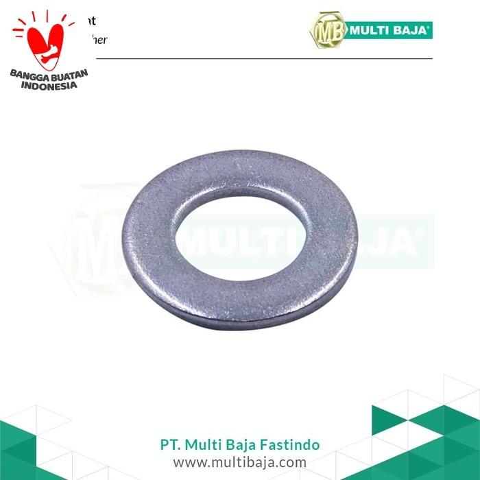 Foto Produk SUS 304 Ring Plat (Flat Washer) M3 Stainless dari Multi Baja Fastindo