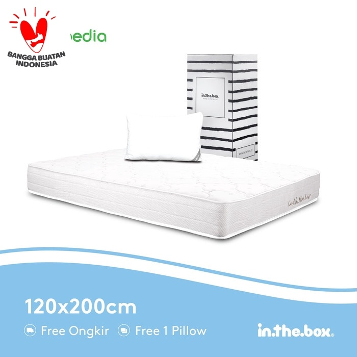 Foto Produk Spring bed inthebox Ukuran 120x200 (Full) dari INTHEBOX Official Store