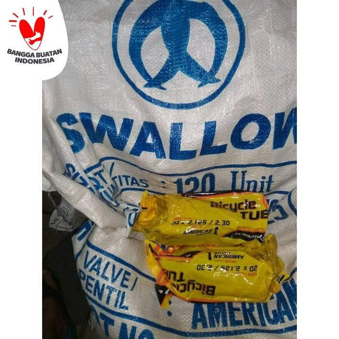Foto Produk 20 x 2.125 / 2.30 Ban Dalam Sepeda Swallow , American Valve dari Sekawan Sepeda