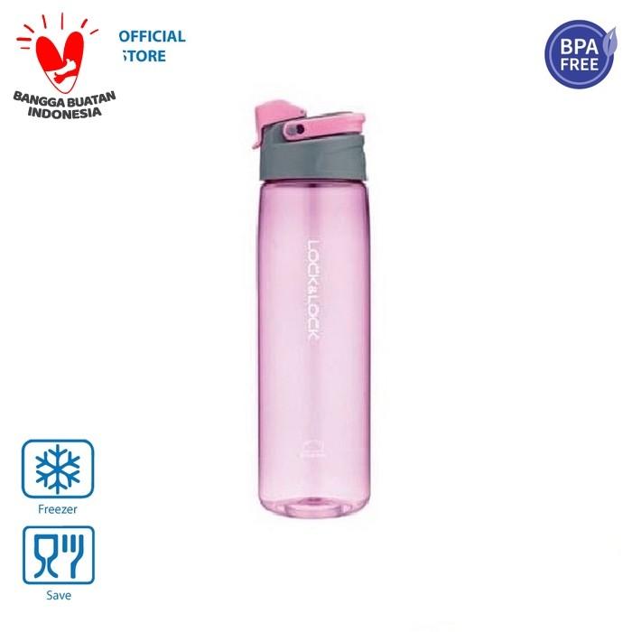 Foto Produk Lock&Lock Botol Air Minum Easy Stopper Bottle 950ml HLC950BLU/PIK/GRN - Merah Muda dari LocknLock Official