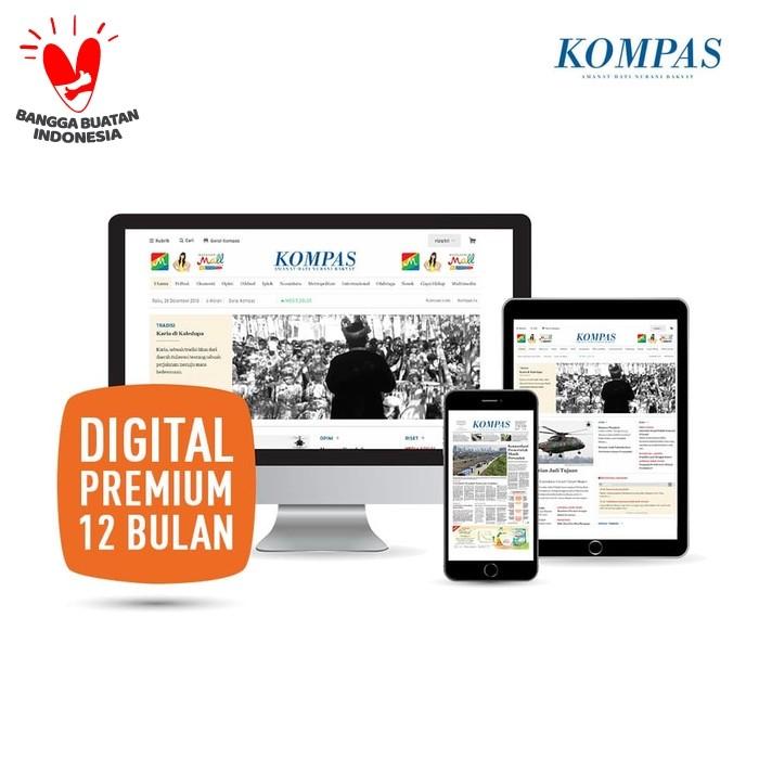 Promo Kompas Digital Premium 12 Bulan Jakarta Selatan Harian Kompas Tokopedia