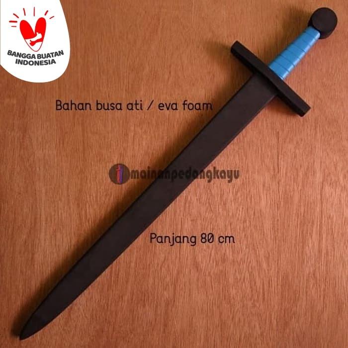 Foto Produk Mainan Pedang Busa (Eva Foam Knight Sword - Cosplay/Sparring/Training) dari Mainan Pedang Kayu