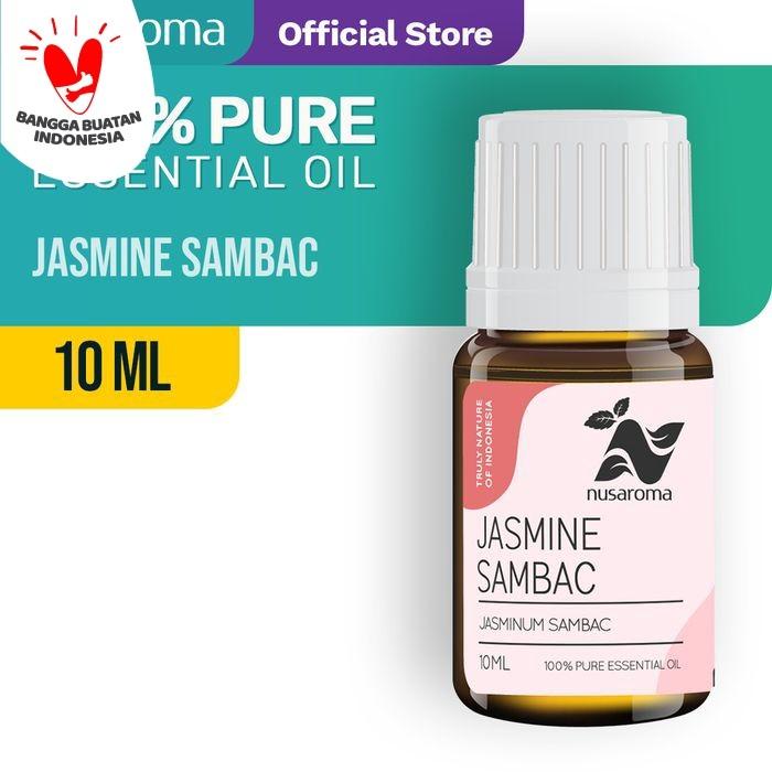 Foto Produk Jasmine Sambac Essential Oil (Minyak Melati) 10 ml | 100% Pure dari Nusaroma