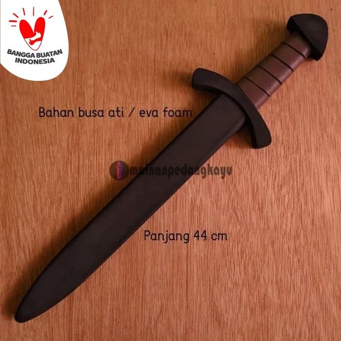 Foto Produk Mainan Pedang Busa (Foam Viking Sword - Cosplay/Kid) dari Mainan Pedang Kayu