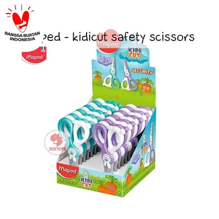 Foto Produk Gunting Anak Maped Kidicut Safety Scissors - Green dari zoetoys