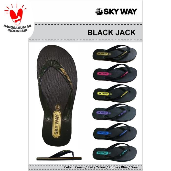 Foto Produk Sandal SkyWay Blkjack - Merah, 9.5 dari SIANTARMAJU dot COM