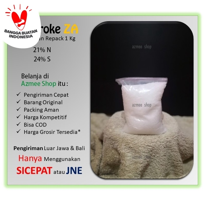 Foto Produk Pupuk Meroke ZA / amonium sulfat dari Azmee shop