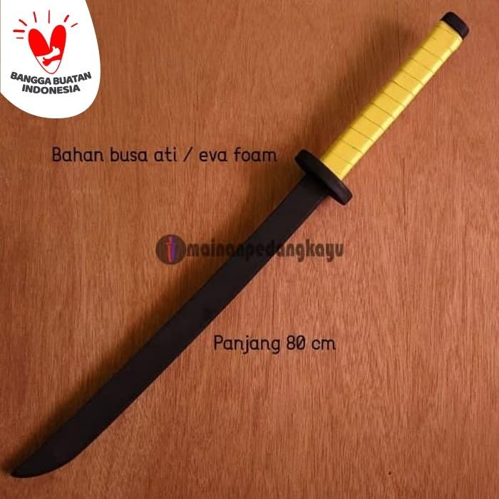 Foto Produk Mainan Pedang Busa (Eva Foam Samurai Sword-Cosplay/Sparring/Training) dari Mainan Pedang Kayu