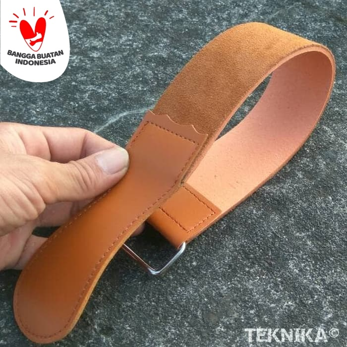 Foto Produk Stropping Leather Double Sided Coarse/Fine Grit for Mirror Polish dari Teknika