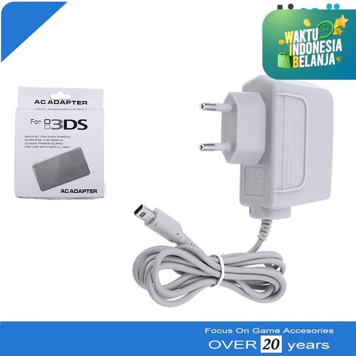 Foto Produk AC Adaptor Charger Nintendo 3DS DSi XL 2DS NDSi NDSXL dari Timur Game Shop