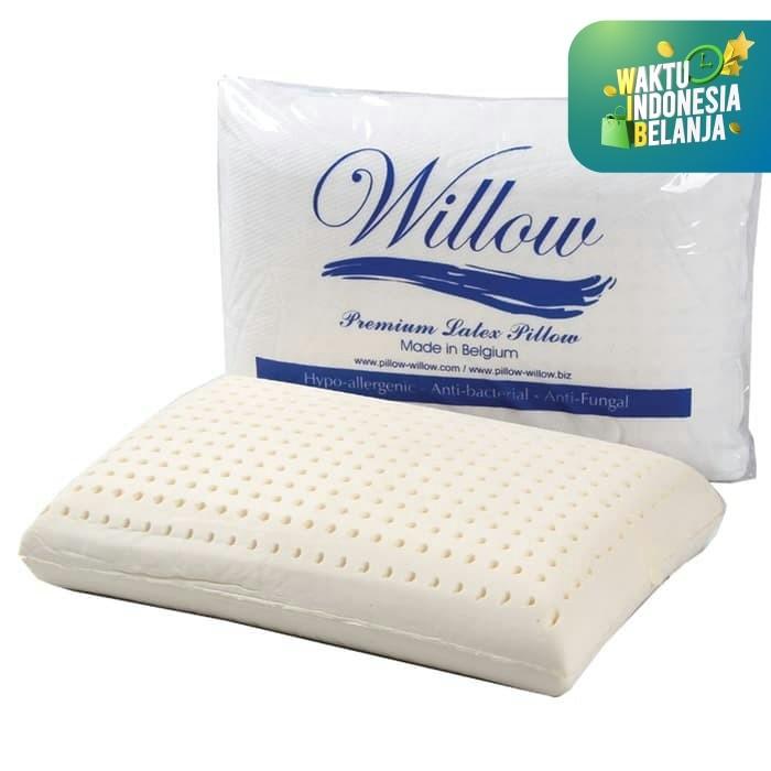 Foto Produk Bantal Latex / Willow Pillow Standard Latex 15cm dari Willow Pillow