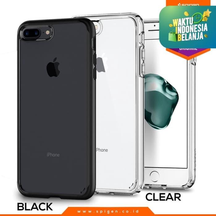 Foto Produk Spigen Ultra Hybrid 2 Case for iPhone 7 Plus / iPhone 8 Plus - Crystal Clear dari Spigen Official